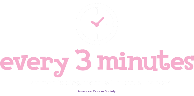 Every 3 minutes a woman is diagnosed with breast cancer - American Cancer Society
